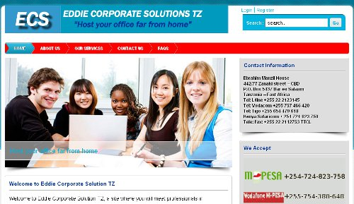Eddie Corporate Solutions TZ