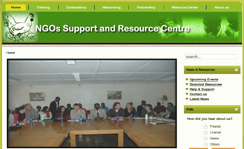 NGOs Support and Resource Center