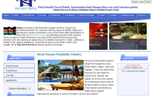 TopSaveTravel-Hotels & Conference,Guest House,Car Hire and Apartments