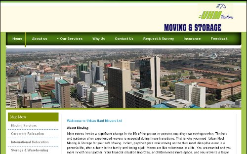 Urban Haul Moving and Storage Ltd